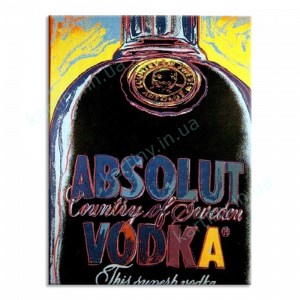 Картина Absolut Vodka, Енді Уорхол