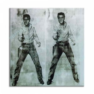 Картина Double Elvis, 1963, Private, Енді Уорхол